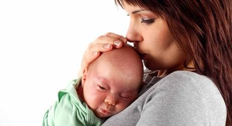 Herpes beim Baby