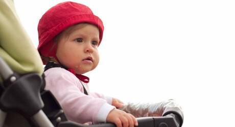 Kinderwagenkauf mit Baby