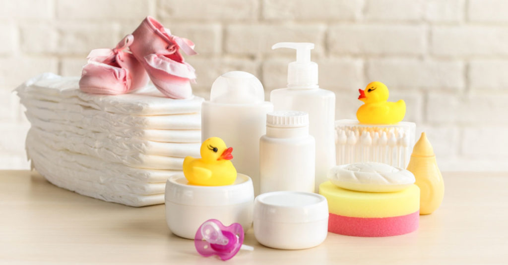 Babyausstattung Pflege