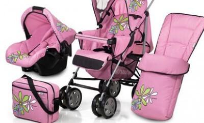 Den Kinderwagen für sein Baby online kaufen