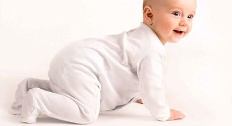 Babyturnen macht Babys Spaß