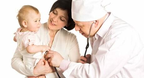 Fieber bei einem Baby