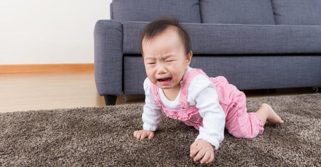 Sturzverletzungen beim Baby