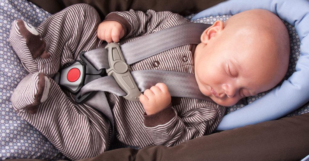 Baby schale für Baby im Auto