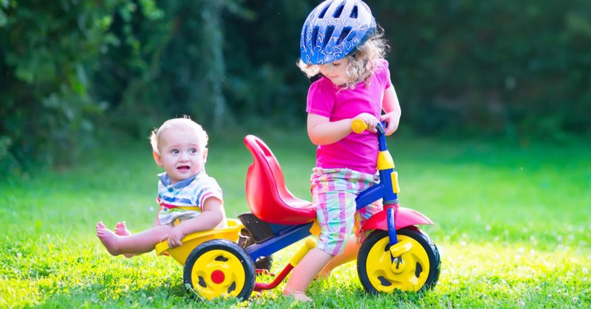 Dreirad oder Laufrad?