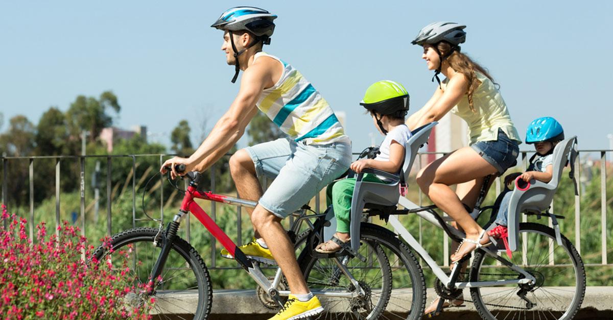 Fahrradsitz für Babys - Tauglichkeit, Sicherheit, Montage