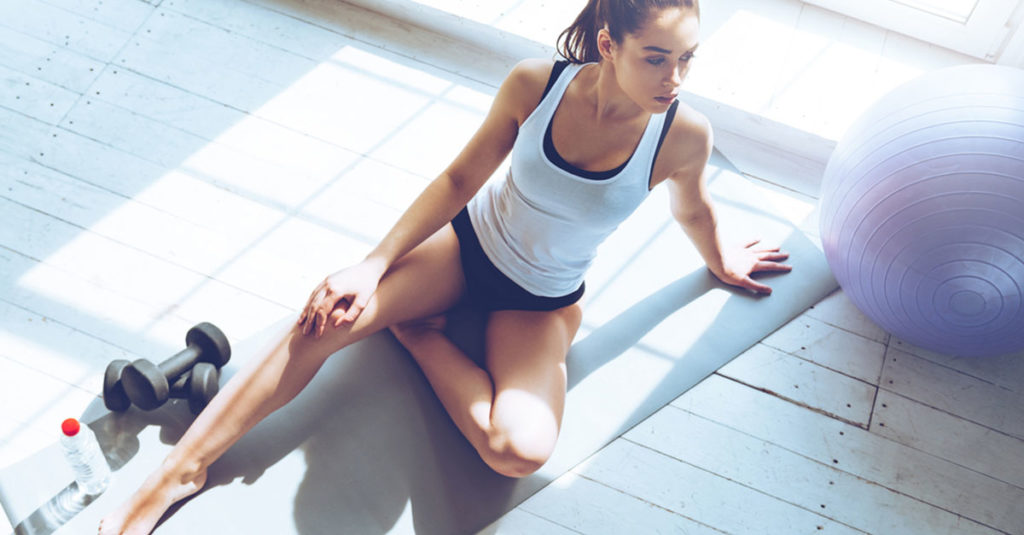 Rückbildungsgymnastik nach der Geburt