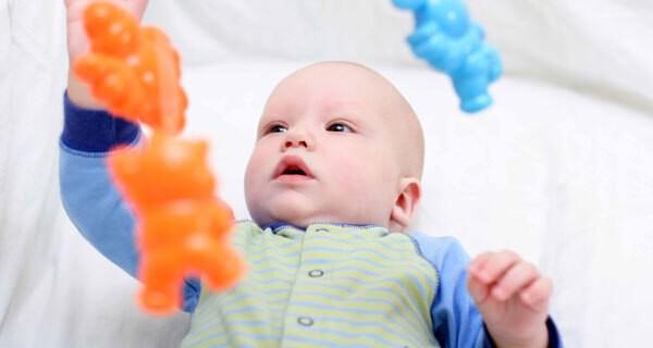 Spieluhr für ein Baby