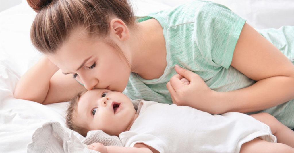 Arbeitstag einer Mutter