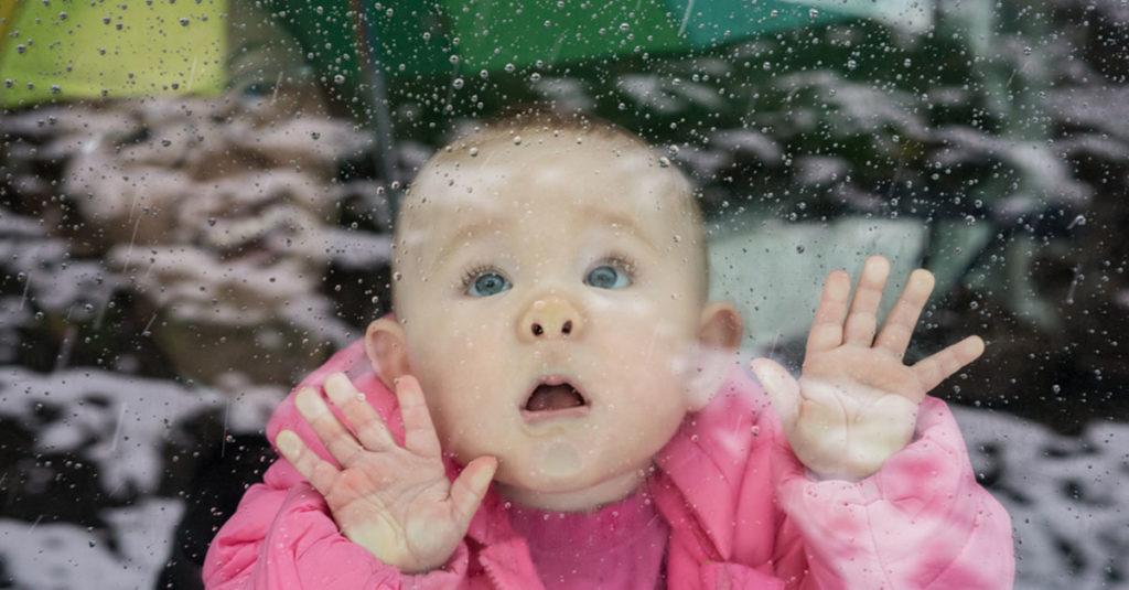 Was tun mit Baby bei Regen?