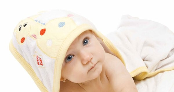 Baby Kapuzenhandtuch