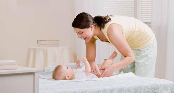 Nabelschnurrest beim Baby