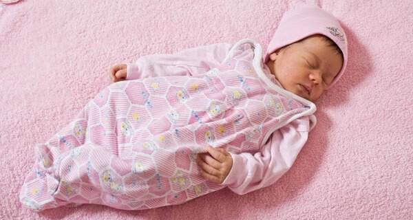 Schlafgewohnheiten von Babys von 3 bis 6 Monaten