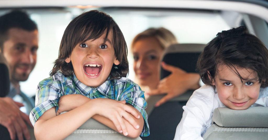 Tipps für Autofahrten mit Kindern