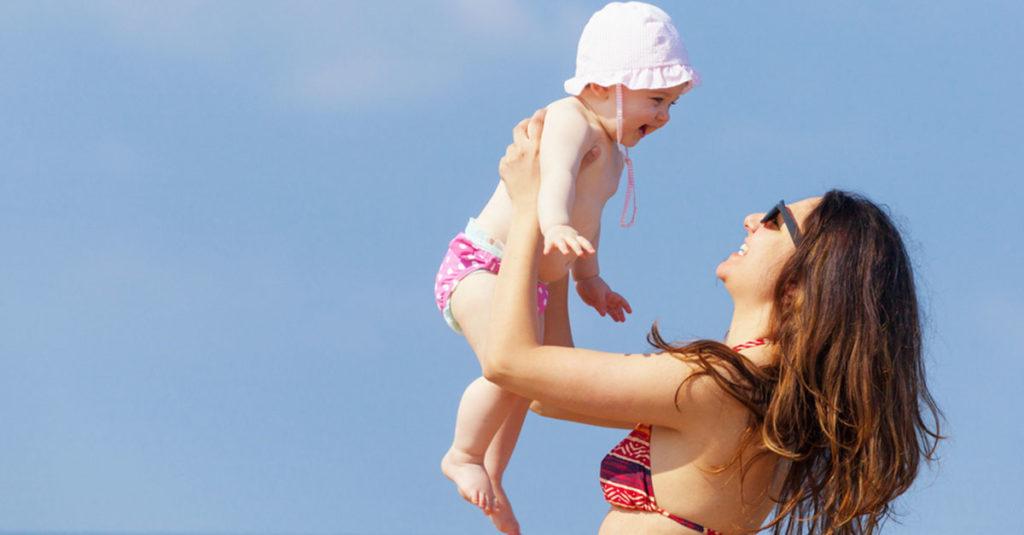 Wie schützt man sein Baby vor Sonne?