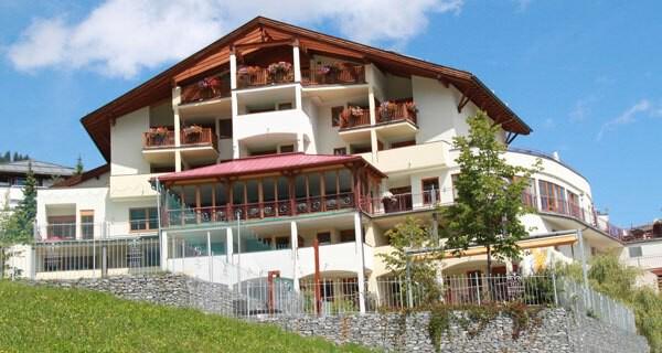 Das Babyhotel Laurentius liegt in Fiss in Tirol