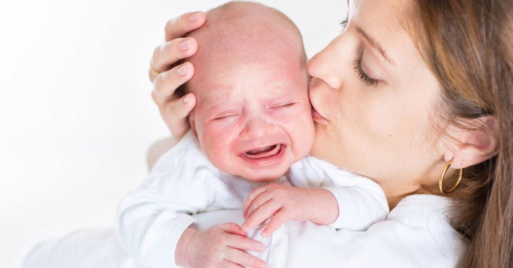 Bauchweh bei Säuglingen
