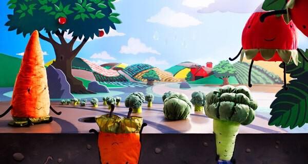 """Das Buch """"Helden im Gemüsegarten"""" von IKEA ist für Babys und Kleinkinder bis 7 Jahre"""