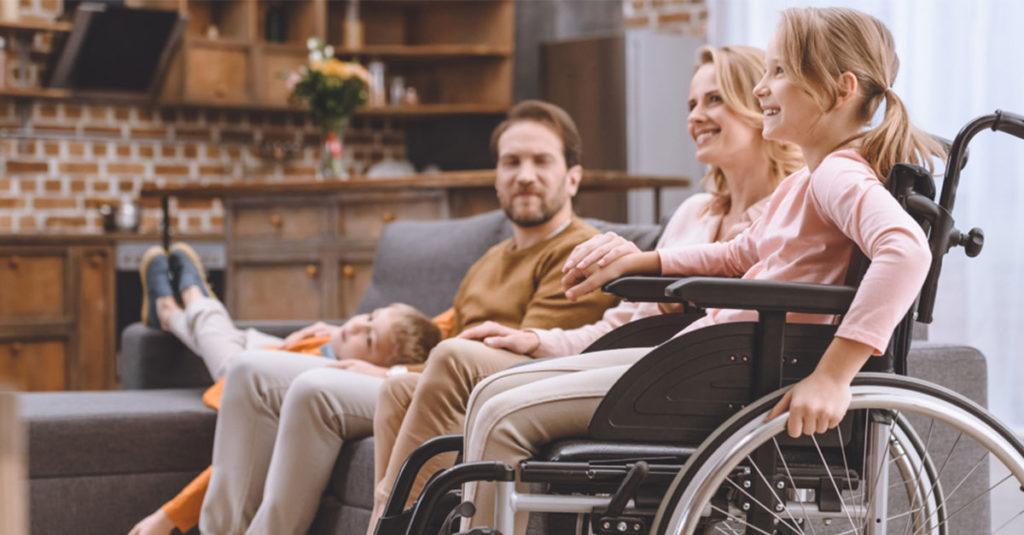 Eltern von Kindern mit Behinderung