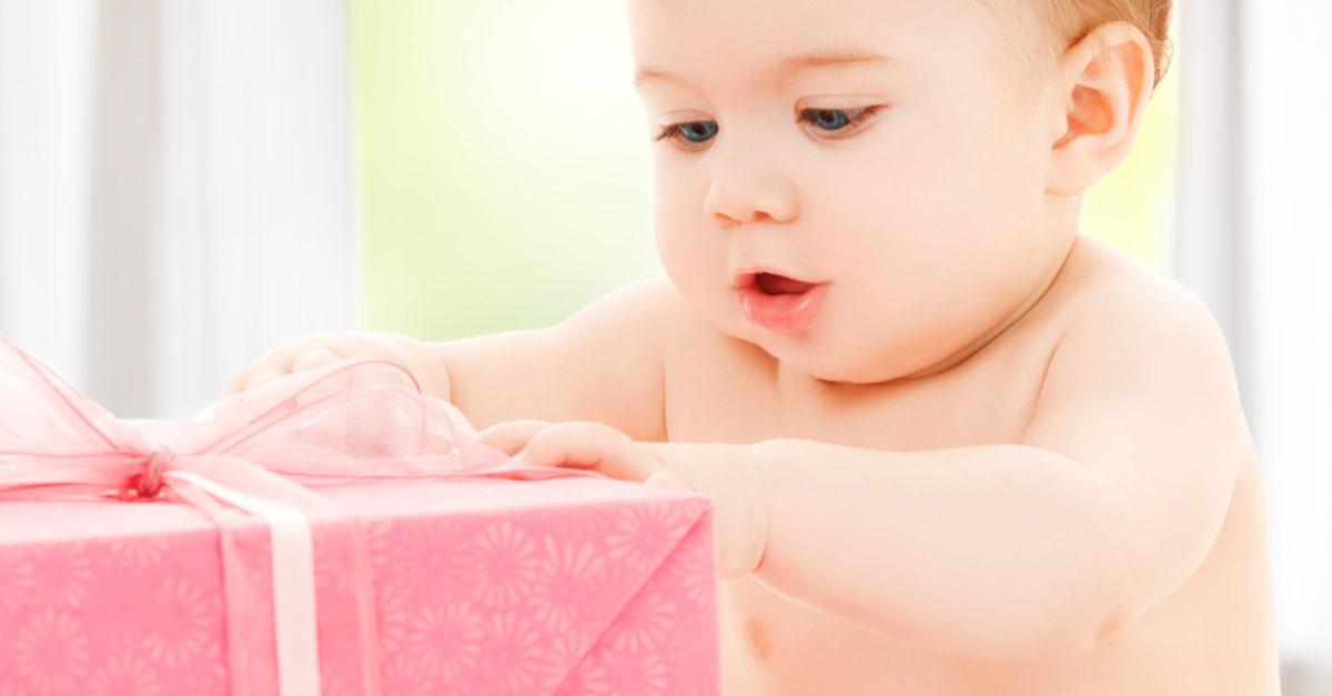 Geschenkideen für ein Baby