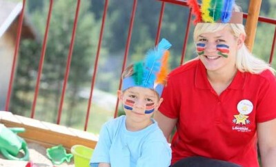 Das Kinderhotel Laurentius in Fiss bietet umfangreiche Kinderbetreuung