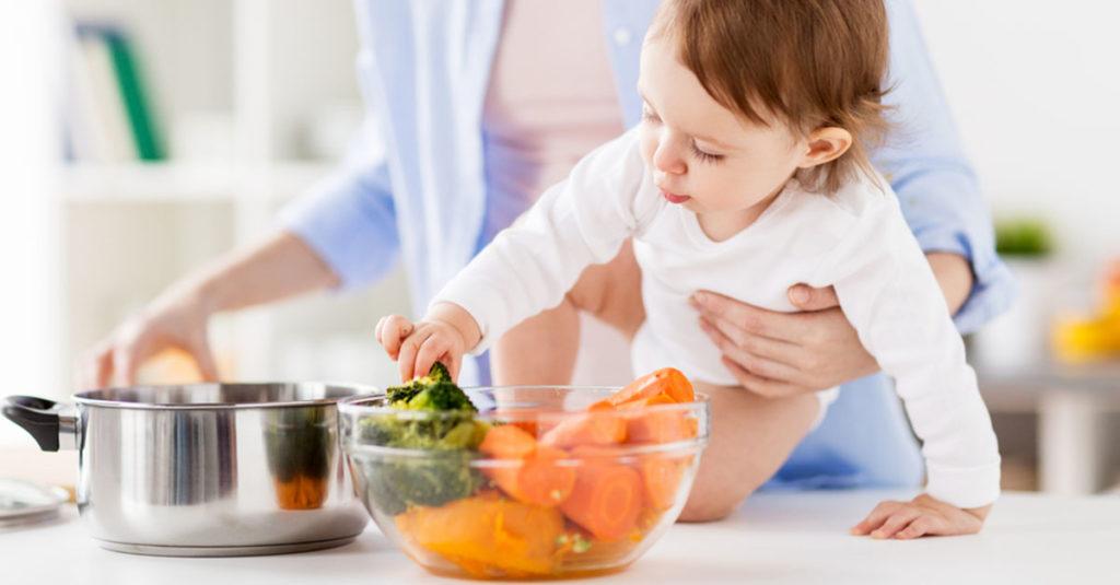 Richtige Ernährung bei Kleinkindern