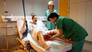 Schleimpfropf bei der Geburt