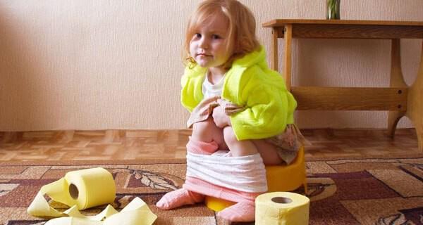 Stuhl bei Säuglingen