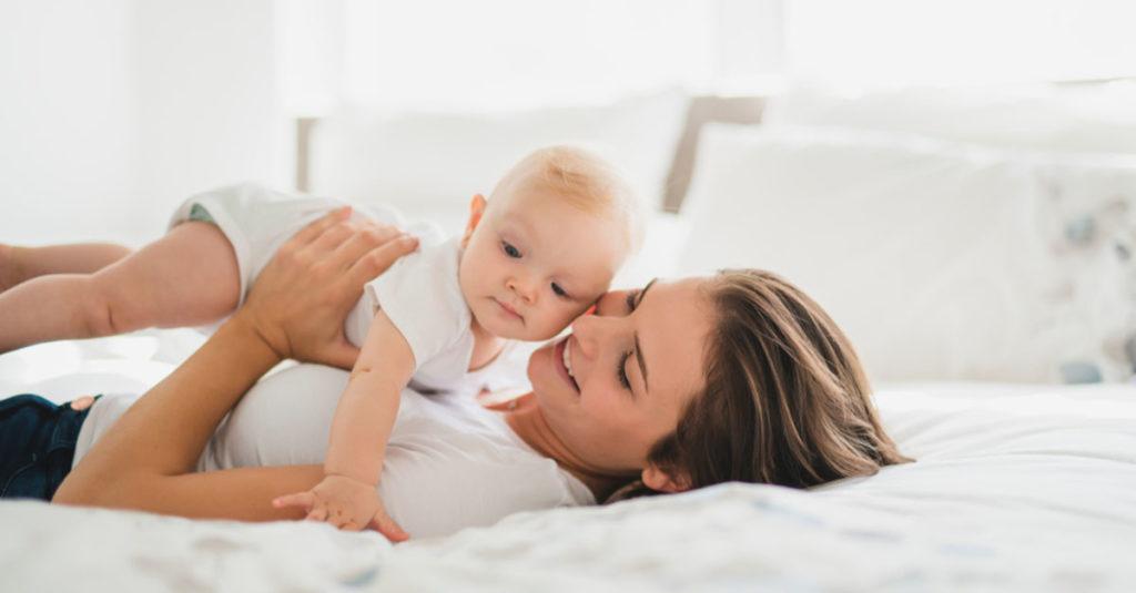 Was tun bei Babyakne?