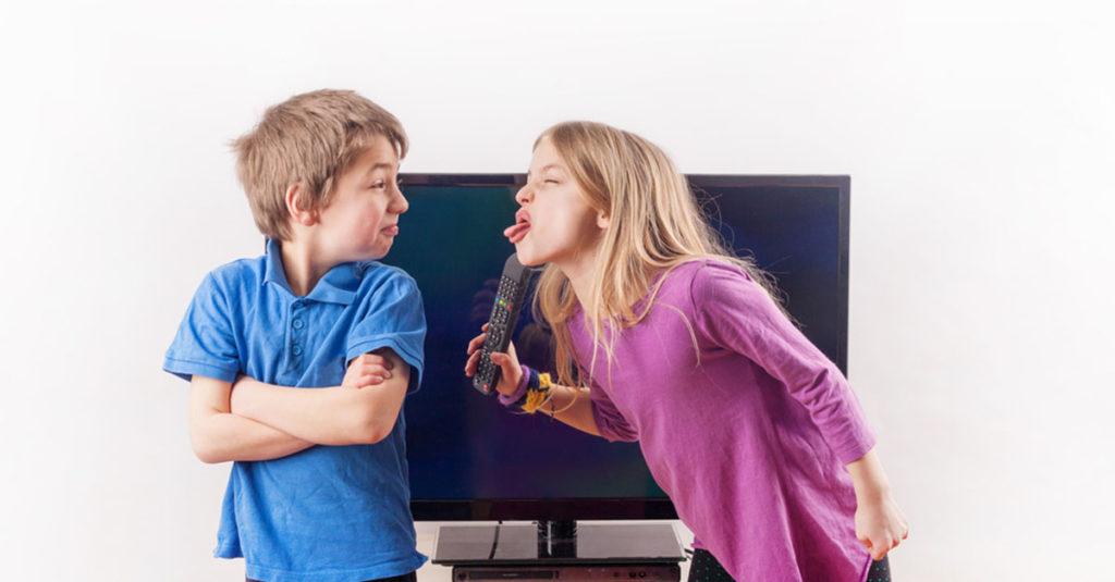 Was tun, wenn Kinder streiten?