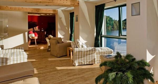 Wellness im Kinderhotel Jägerwirt auf der Turracher Höhe in der Steiermark