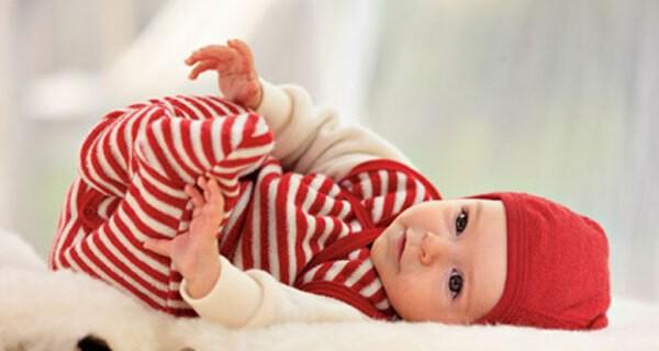 Wickelbody für ein Baby