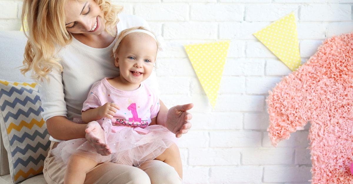 Geburtstag: unser Kind wird eins