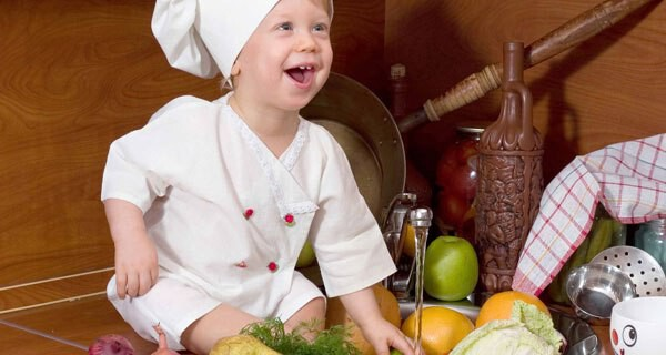 Kochen mit kindern kleinkind und eltern - Kochen und backen mit kindern ...