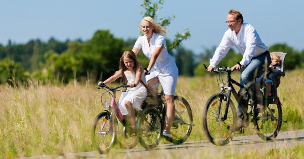 Sicheres Radfahren mit Baby