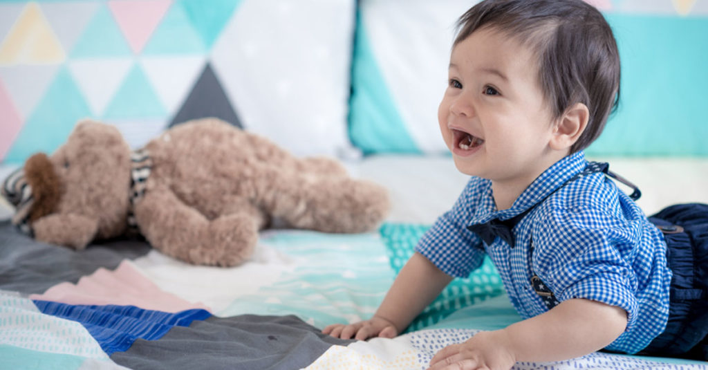Baby Entwicklung Monat 11