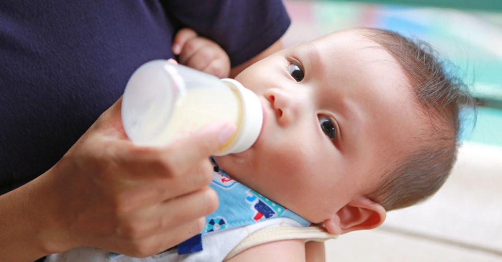 Baby Nahrungsplan