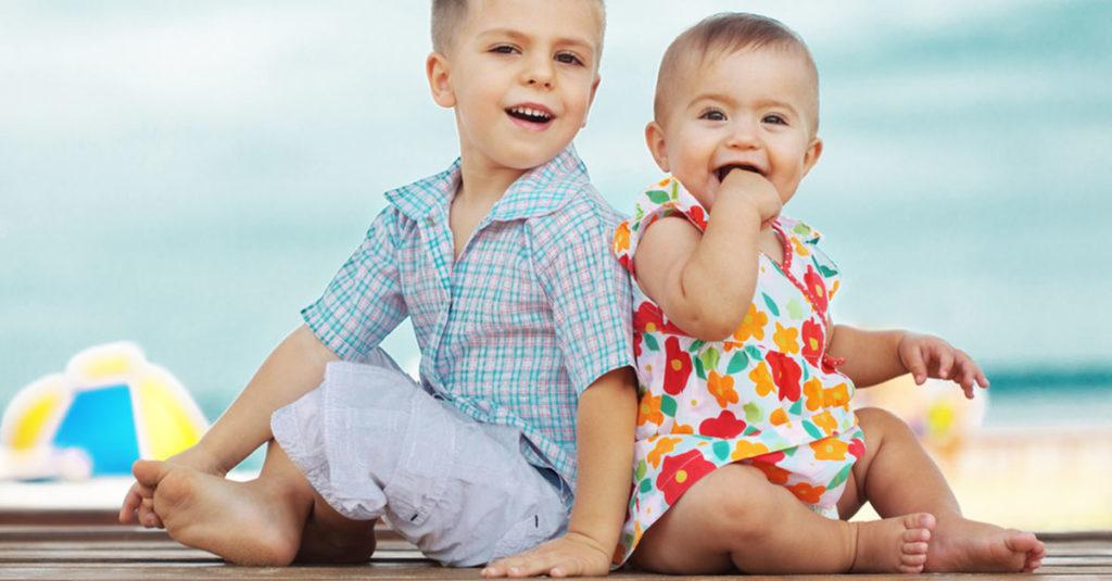 Babykleidung für den Sommer