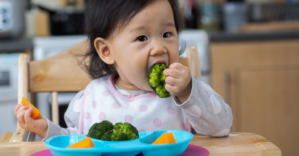 Die richtige Babynahrung