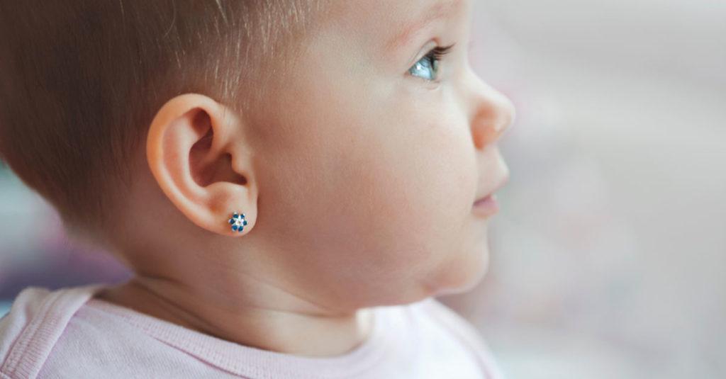 Gehörschutz für ein Baby