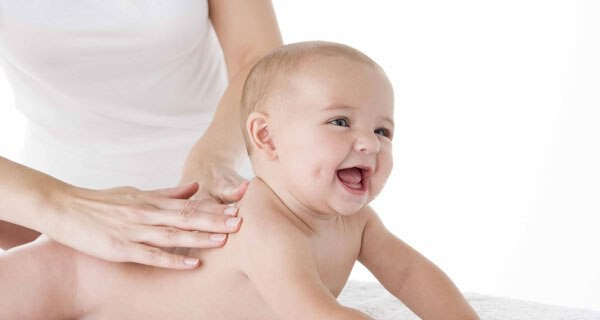 Pflegeprodukte für ein Baby