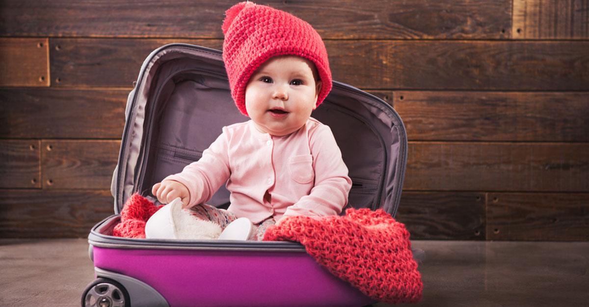 Reiseapotheke für ein Baby
