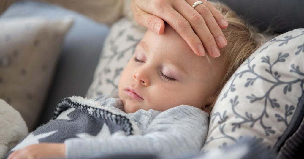 Sommergrippe bei Kindern