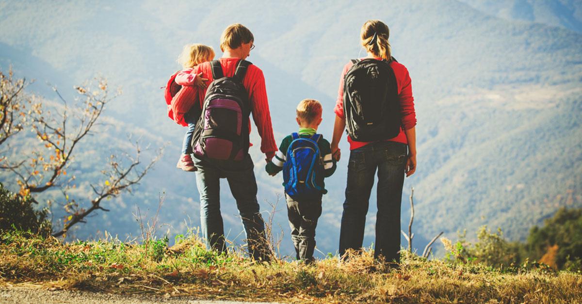 Urlaub in den Bergen mit Kleinkind