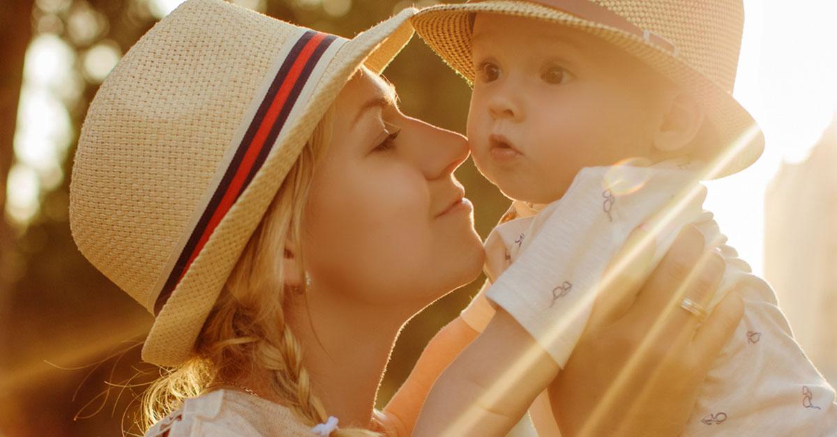 Wie schützt man Babys vor UV-Strahlung?
