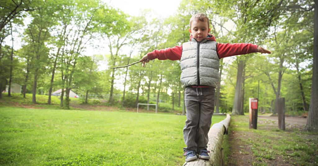 Gleichgewichtssinn bei Babys und Kindern