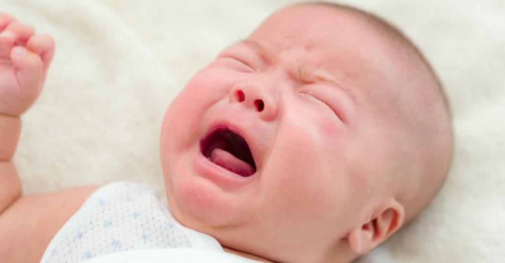 Babys weinen