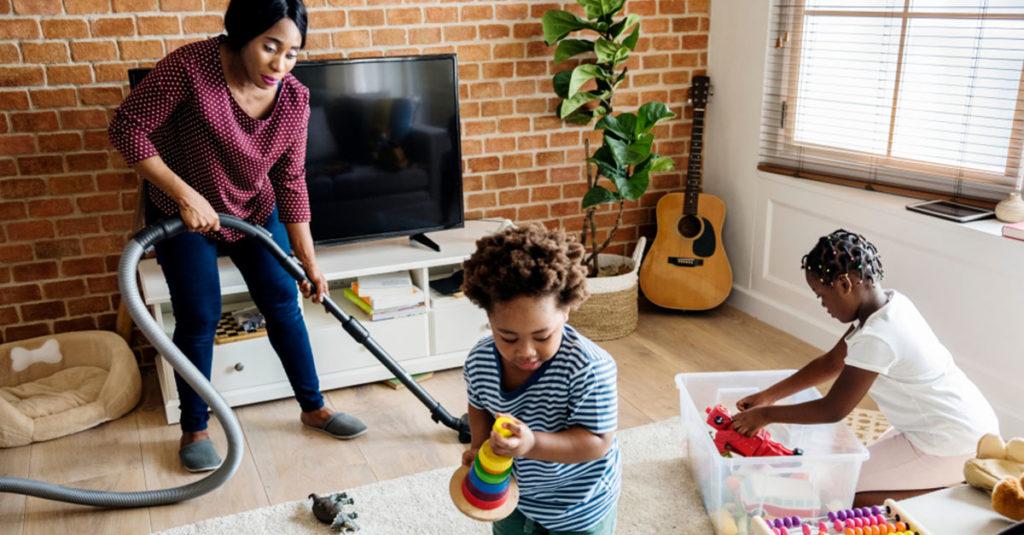 Mit Kindern aufräumen - aber wie?