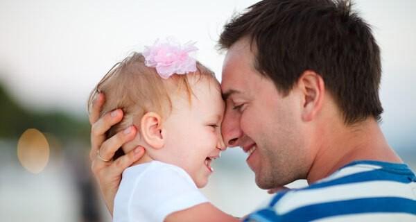 Tipps für einen guten Vater von Säugling und Kind