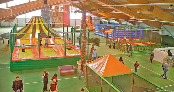 Das Vulcanino ist ein Indoor Spielplatz für Baby und Kind in Salzburg